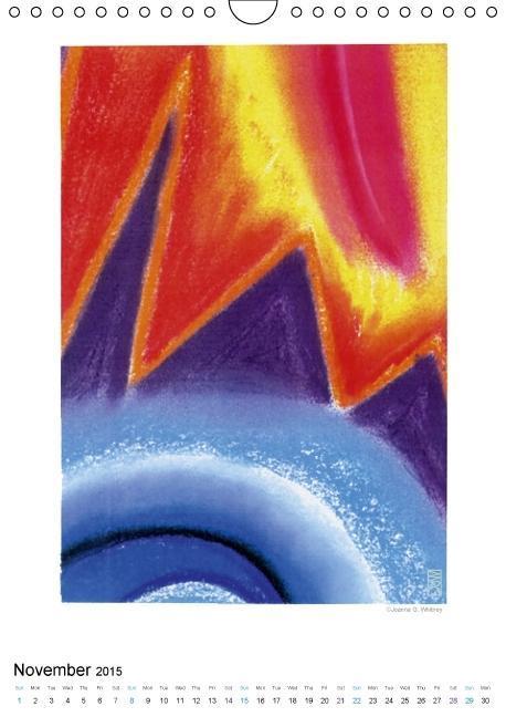 Fire Air Water Earth (Wall Calendar 2015 DIN A4 Portrait) - zum Schließen ins Bild klicken