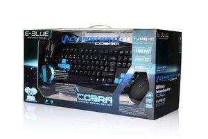 Cobra Combo Set / Starter Set (Tastatur + Maus + Headset)