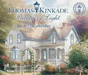 Thomas Kinkade Painter of Light 2017 Day-To-Day Calendar