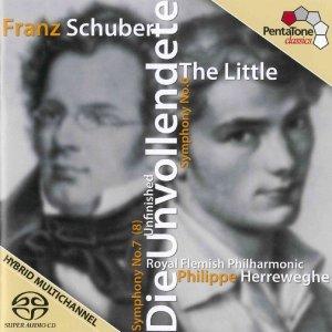 Sinfonien 6+8 'Die Unvollendete'