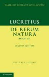 Lucretius: De Rerum Natura Book III