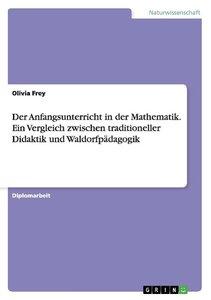 Der Anfangsunterricht in der Mathematik. Ein Vergleich zwischen