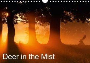 Deer in the Mist (Wall Calendar 2015 DIN A4 Landscape)
