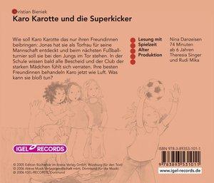 Karo Karotte und die Superkicker. CD