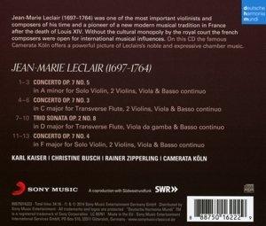 Violinkonzerte op.7,Nr.3-5 & Triosonate op.2,8