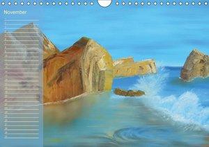 Faszination Malerei (Wandkalender immerwährend DIN A4 quer)
