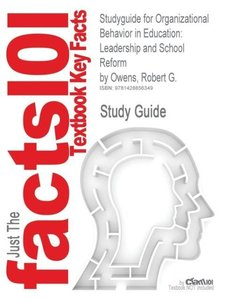 Studyguide for Organizational Behavior in Education
