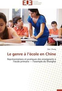 Le genre à l'école en Chine