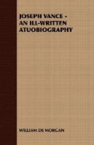 Joseph Vance - An Ill-Written Atuobiography