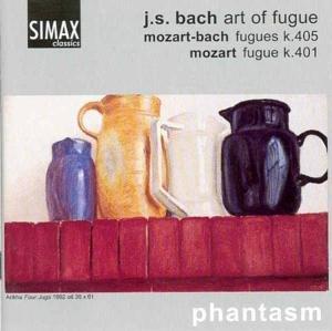 Die Kunst der Fuge/+Mozart: Quartette