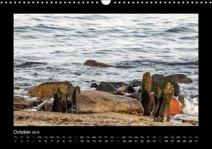 STONES AND THE SEA (Wall Calendar 2015 DIN A3 Landscape)