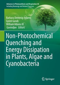 Non-Photochemical Quenching and Energy Dissipation in Plants, Al