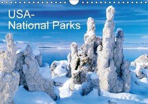 USA - National Parks (Wall Calendar 2015 DIN A4 Landscape)