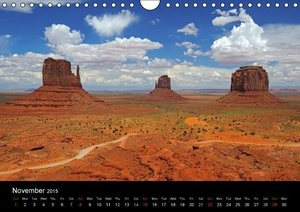 USA - National Parks (Wall Calendar 2015 DIN A4 Landscape)