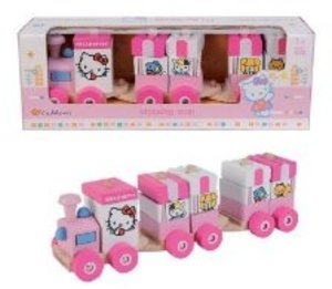 Eichhorn 100003130 - Hello Kitty: Holz-Steckzug