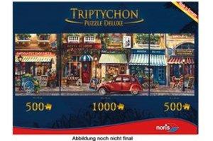 Triptychon Puzzle 2000 tlg. Paris