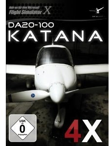 Flight Simulator X - Diamond DA20-100 Katana 4X
