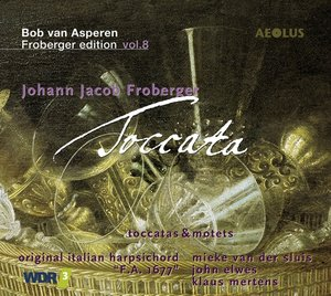 Toccata-Froberger-Edition Vol.8