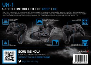 VX-1 Wired Controller PS3 & PC kompatibel (kabelgebunden)