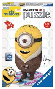 Ravensburger 11667 - Minion, Bored Silly, 54 Teile, 3D-Puzzle