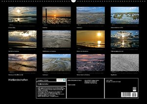 Wattlandschaften (Wandkalender 2016 DIN A2 quer)