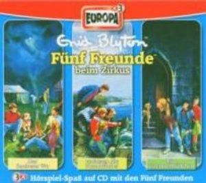 Fünf Freunde Box 05. Folgen 5, 7, 8. 3 CDs