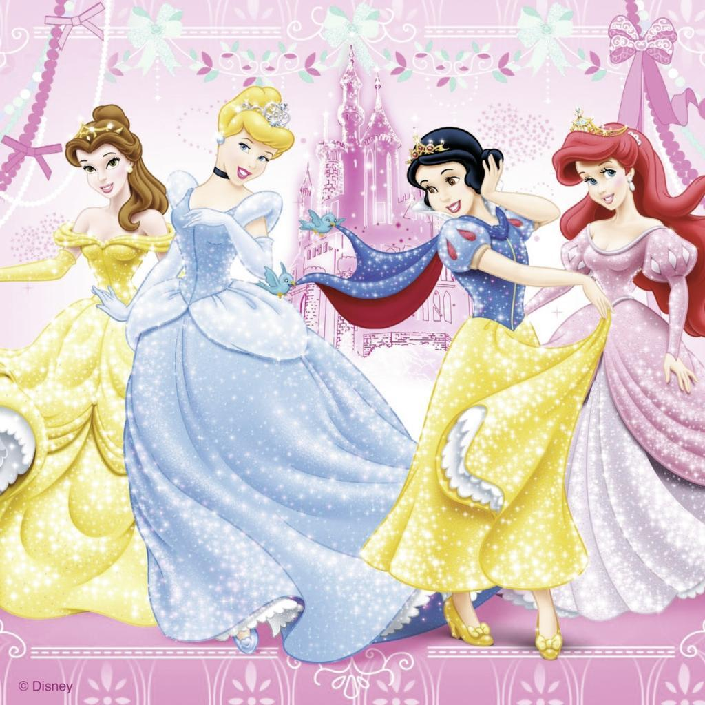 Ravensburger 09277 - Disney Princess: Schneewittchen, 3 x 49 Tei - zum Schließen ins Bild klicken
