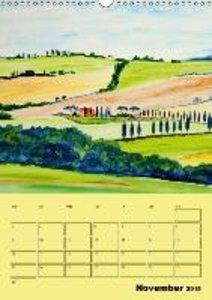 Beautiful Tuscany (UK-Version) (Wall Calendar 2015 DIN A3 Portra