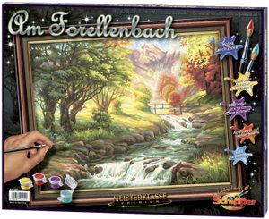 Schipper 609130412 - Forellenbach, MNZ, Malen nach Zahlen