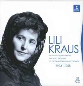 Lili Kraus:Sämtliche Aufnahmen 1933-1958