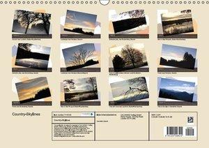 Country-Skylines (Wall Calendar 2015 DIN A3 Landscape)