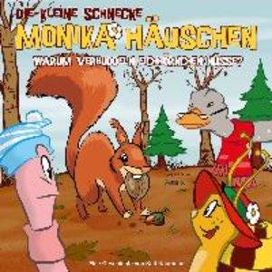 Die kleine Schnecke Monika Häuschen 34: Warum verbuddeln Eichhör