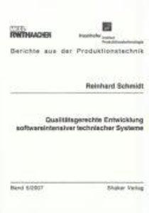 Qualitätsgerechte Entwicklung softwareintensiver technischer Sys