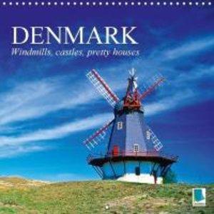 Denmark: Windmills, castles, pretty houses (Wall Calendar 2015 3