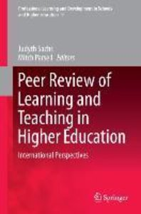 Peer Review of Learning and Teaching in Higher Education