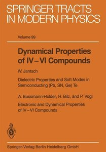 Dynamical Properties of IV-VI Compounds