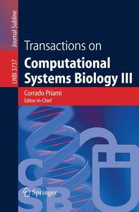 Transactions on Computational Systems Biology III