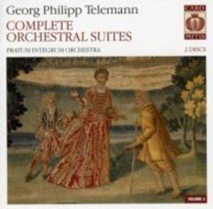 Sämtliche Orchestersuiten Vol.3