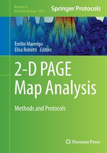 2-D PAGE Map Analysis