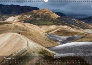 Awe-Inspiring Landscapes of the World: The Hiking Calendar / UK-