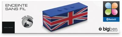 Bluetooth-Lautsprecher BT01 - Union Jack - zum Schließen ins Bild klicken