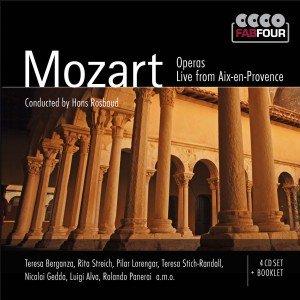 Mozart Operas-Live From Aix-En-Provence