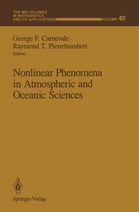 Nonlinear Phenomena in Atmospheric and Oceanic Sciences