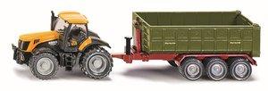 SIKU 1855 - JCB: Traktor mit Hakenliftmulde