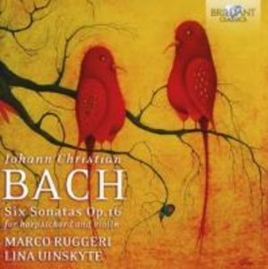 Six Sonatas op.16 For Harpsichord And Violin