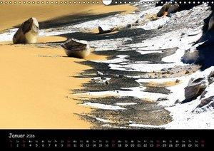 Weisse Wüste Ägypten (Wandkalender 2016 DIN A3 quer)