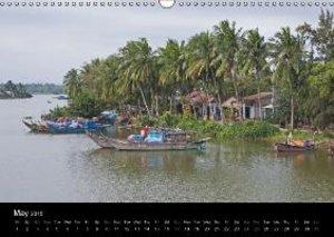 Vietnam (UK-Version) (Wall Calendar 2015 DIN A3 Landscape)