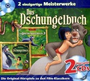 Disney Kinoklassiker. Dschungelbuch 1und 2