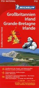 Großbritannien, Irland 1 : 1 000 000. Straßenkarte