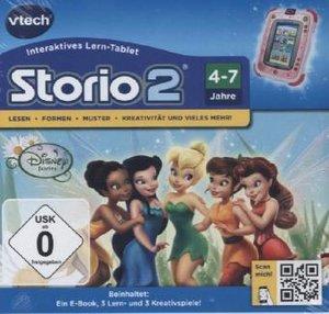 VTech 80-230304 - Storio 2 Lernspiel: Tinkerbell